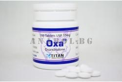 Oxa (Titan Healthcare) Oxandrolon Анавар - 100 таблетки по 10мг.