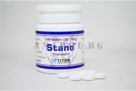 Stano (Titan Healthcare) станозолол 100 таблетки по 10мг.