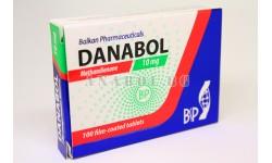 Danabol (Balkan Pharma) Метандростенолон - 60 таблетки по 10мг.