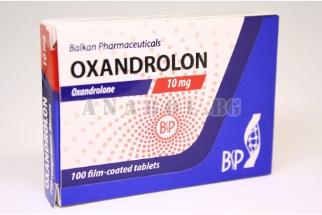 Oxandrolone (Balkan Pharmaceuticals) Anavar - 120 таблетки 10мг.