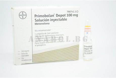 Примоболан (Bayer) Испания 1 ампула 100мг