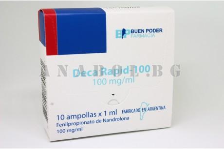Deca Rapid 100 (Buen Poder) Нандролон - 10 ампули  по 200мг/мл