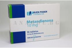 Metandienona (Buen Poder) - Метандростенолон 100 таб. по 10мг.