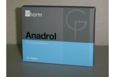 Анадрол (Generics Pharm) 32таб. по 50мг.