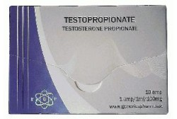 Test.Propionate (Euro Generics) Пропионат 10амп. 100мг/мл