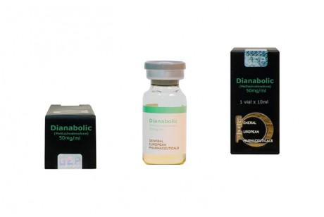 Dianabolic (GEP) Methandionone - флакон 10мл.