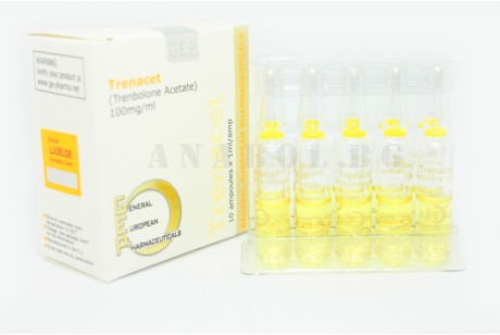 Trenacet (GEP) 10 ампули/100mg Trenbolone Acetate