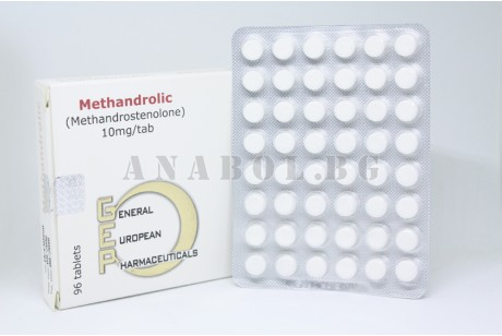 Methandrolic (GEP) Metandrostenolon - 96таб. 10мг.