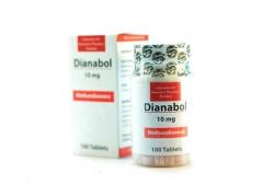 Dianabol (Lipthai) - Дианабол Метан - 100таб.10мг.