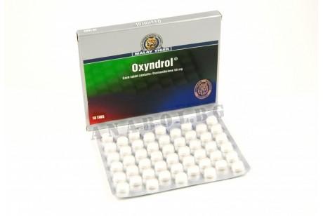 Oxyndrol (Malay Tiger) Анадрол 50 таблетки оксиметолон