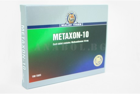 Metaxon (Malay Tiger) Метандростенолон - 100 таблетки по 10мг.