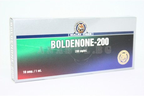 Boldenone (Malay Tiger) Болденон - 10ампули/200мг.