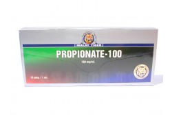 Propionate (Malay Tiger) - Тестостерон пропионат - 10 ампули 100мг/мл