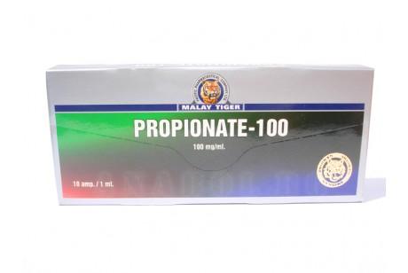 Propionate (Malay Tiger) - Тестостерон пропионат - 10 ампули 100мг/мл