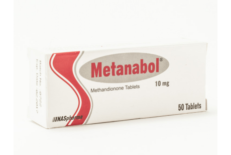 Metanobol (Nas Pharma) Метан - 50 таблетки по 10мг.