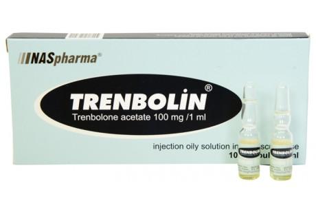 Trenbolin (Nas Pharma) Тренболон Ацетат - 10ампули.