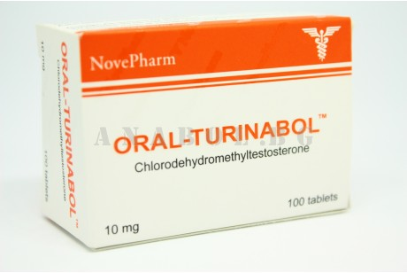 Oral Turinabol (NovePharm) Туринабол 100 таблетки