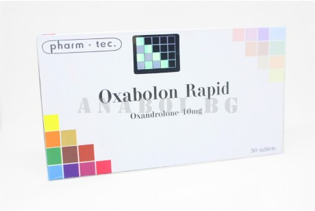 Oxabolon Rapid (Pharm Tec) Анавар Рапид - 50 таблетки по 10мг.
