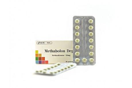 Methabolon Depot (Pharm Tec) бавен метандростенолон - 30 таблетки по 20мг.