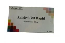 Анадрол 20 Rapid (Pharm Tec) 50таб. по 10мг.