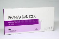PharmaNan D300 (Pharmacom Labs) Нандролон Деканоат 10 ампули