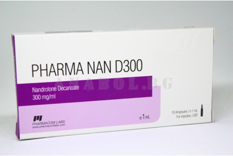 PharmaNan D300 (Pharmacom Labs) Нандролон Деканоат 10 ампули