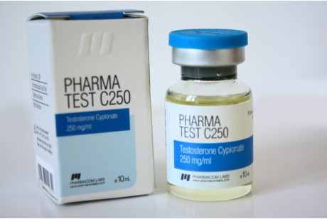 Pharma Test C250 (Pharmacom Labs) тестостерон ципионат