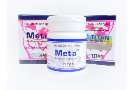 Meta (Titan Healthcare) Methandienone - 100таб. 10мг.