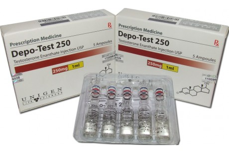 Depo test (Unigen) Тестостерон Депо - 5ампули