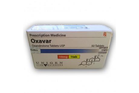 Oxavar (Unigen) Анавар - 50таб. 10мг.
