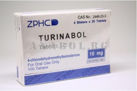 Turinabol (ZHPC) 100 таблетки туринабол