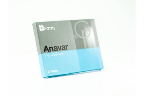 Anavar (Generics Pharm ) 96таб. 10мг