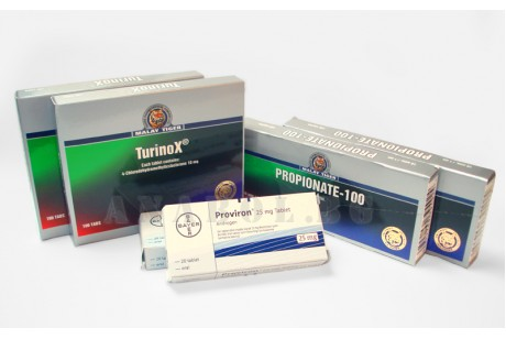 Стероиден цикъл: Туринабол и Тестостерон Пропионат